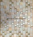 Azulejo de mosaico moderno del vidrio y del mármol del estilo para la decoración de la pared
