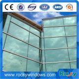 Anti Terremoto Muro cortina de vidrio con estructura de acero
