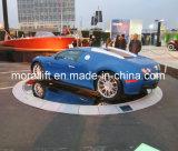 Plataforma giratória do carro de plataforma de 360 indicadores