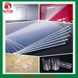 Folha transparente dura 10*1200*2400mm do PVC