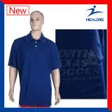 Overdracht die van de Hitte van Healong de Lege het Overhemd van het Polo van de Polyester van 100% afdrukken