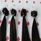 Estensioni dei capelli del ciclo con i capelli umani 100% di Remy