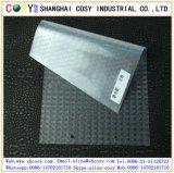 A estática removível lustrosa transparente do PVC adere-se película para a decoração do indicador