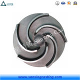 Steel Investment Precision Lost Wax Casting for Water Pump Impeller