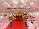 Tente de luxe de garniture de 500 personnes avec le chapiteau en bois de mariage de plancher