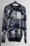 Maglione del pullover modellato collo rotondo degli uomini 100%Cotton