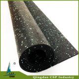 Stuoie di gomma di ginnastica del pavimento di uso dell'interno popolare antisdrucciolevole di forma fisica
