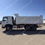 Caminhão de descarga 6X4 de HOWO A7 no caminhão de Tipper de HOWO