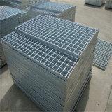 Barra de acero galvanizada que ralla para el suelo y el foso