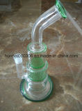 Pyrex Glasgefäß-Wasser-Rohr mit Drucken