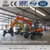 Baoding-kleines Holz/Zuckerrohr-/Stroh-Ladevorrichtungs-ansteckende Maschine