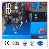 машина гидровлического шланга управлением компьютера 380V гофрируя