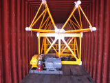 Qtz63 Tc5012) con el surtidor de grúa de la construcción de la carga máxima 5t