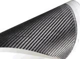 Tubo lleno de la fibra del carbón 3k para subir