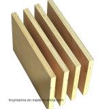 Colagem do Mf da madeira compensada do vidoeiro branco da classe de C/D