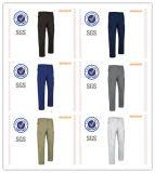 Mens Casual Basic Long Cargo Pants Nenhum acessório