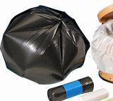 HDPE Plastic Star Seal Trash Bag auf Roll