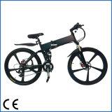 Bicicleta elétrica do tamanho do material do frame da liga de alumínio e das 26 rodas (OKM-889)