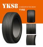 Neumático de coche, neumático del vehículo de pasajeros, neumático de la polimerización en cadena, neumático semi radial