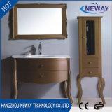 Gabinete clássico de madeira novo da vaidade do banheiro da mobília