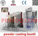 Ruhe Running Automatic Powder Coating Booth mit Competitive Price