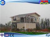 軽い鉄骨構造(FLM-H-022)が付いているモジュラー別荘の家かプレハブの家