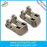 Cor Titanium feita sob encomenda peças de alumínio anodizadas do CNC, peças de maquinaria do CNC