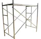 Marcos del andamio de la escala y andamio del marco de H para la construcción