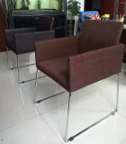 가죽 의자, 사무실 가죽 의자, 강철 프레임 의자 (C0911)
