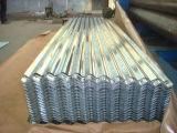 Hdgi a ridé la feuille en acier de toiture de zinc de fer