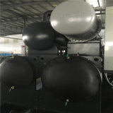 水/地上ソースヒートポンプの冷暖房装置