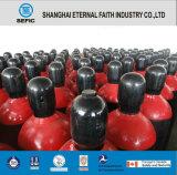 Cilindro de gas del nitrógeno del acero inconsútil de la alta calidad