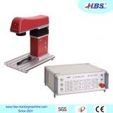 En ultramar después de la máquina disponible de la marca del laser de la fibra 20W de las personas del servicio de ventas para la marca del PVC