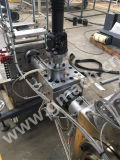 Plastikbrücke-Strangpresßling-Maschine mit Plastik-Schmelzpumpe