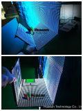 Indicador de diodo emissor de luz de pouco peso de alta resolução do cabo flexível da cor P6 cheia