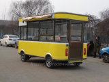 Tiefes Bratpfanne-Karren-Zitrone-Nudel-Karren-Gaststätte-Buffet-Auto