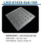 LED Street Light/Lamp Module Lens met 30 (5*6) LED van Philips Lumileds (160Polarized Light)