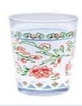 茶または飲むことのためのステッカーのPringtingのガラスコップ