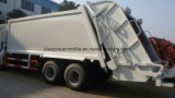 20 Cbm 쓰레기는 트럭 6X4에 의하여 압축된 쓰레기 트럭을 모으고 수송한다