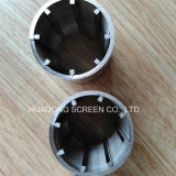 Small-Bore totalmente alrededor del tipo tubo de Johnson de la pantalla/filtro para pozos del agua