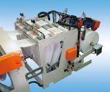 Caliente-Lacre doble automático completo de Linesl y la bolsa de plástico fresca de la camiseta del corte que hacen la máquina