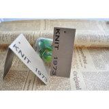Сложенные бумажные бирки Hang с цветастым печатание для ярлыков одежд