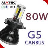 G5 OEM Hb3 9005 LED 헤드 라이트 빔 장비 안개등 전구 80W 8000lm