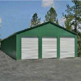 Vor-Ausgeführtes Baustahl-Gebäude für die industriellen und Wohnanwendungen (KXD-01)