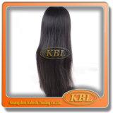 Produtos de cabelo da peruca dianteira de seda brasileira do laço
