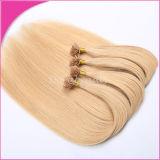 Extensão Pre-Glued livre do cabelo de Branzilian do cabelo humano de Remy do emaranhado
