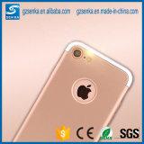 Caixa plástica dura destacável do telefone dos acessórios do telefone móvel para o iPhone 7/7 positivo