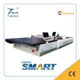 Multi автомат для резки слоев в машинном оборудовании тканья изделий способа