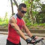방수 주머니 이어폰 잭 및 자전거 마운트는을%s 가진 자전거 핸들을 위에 설치한다