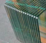 6mm/8mm/10mm/12mmのシャワーの透過ガラスの溝が付いている緩和された/ToughenedガラスかNotcheまたは穴またはヒンジ